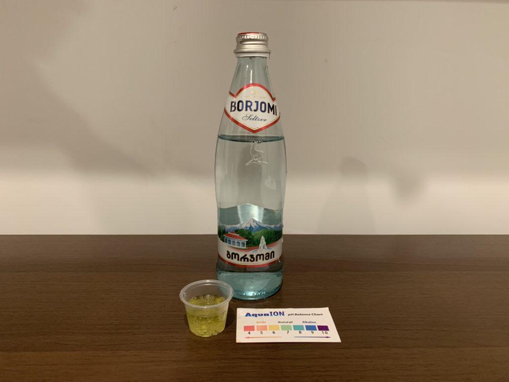 Borjomi Water Test Results