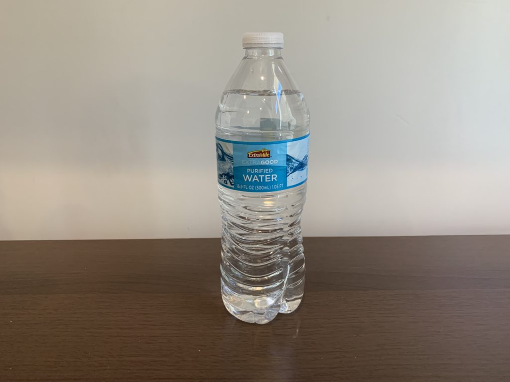 Extra Mile Water Test