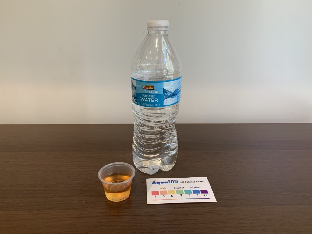 Extra Mile Water Test Results