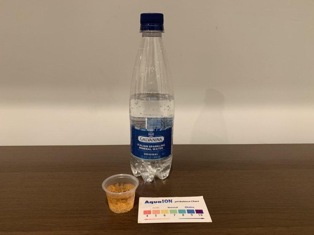 Galvanina Water Test Results