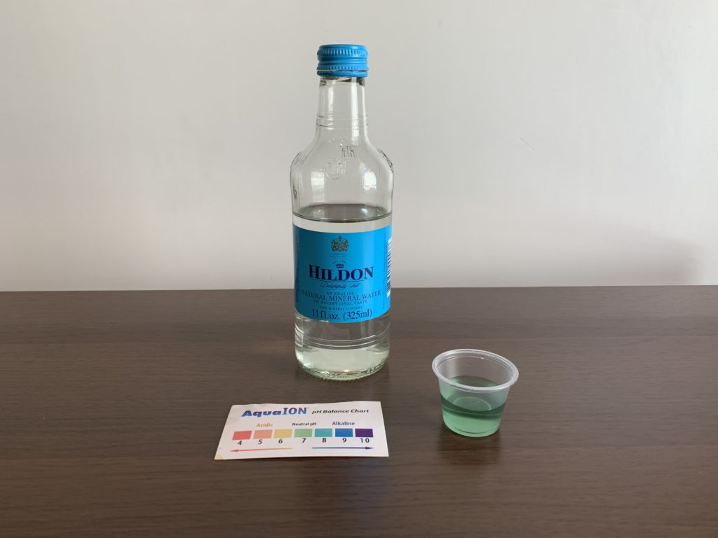 Hildon Water Test Results