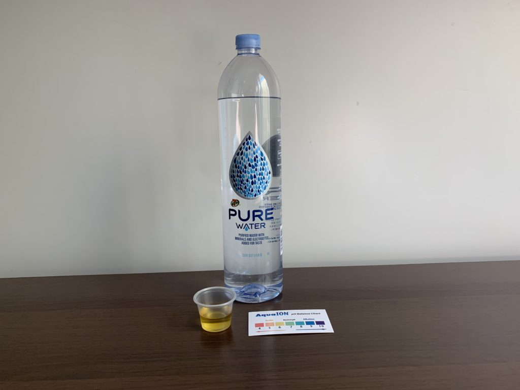 Select 7 Pure Water Test Results