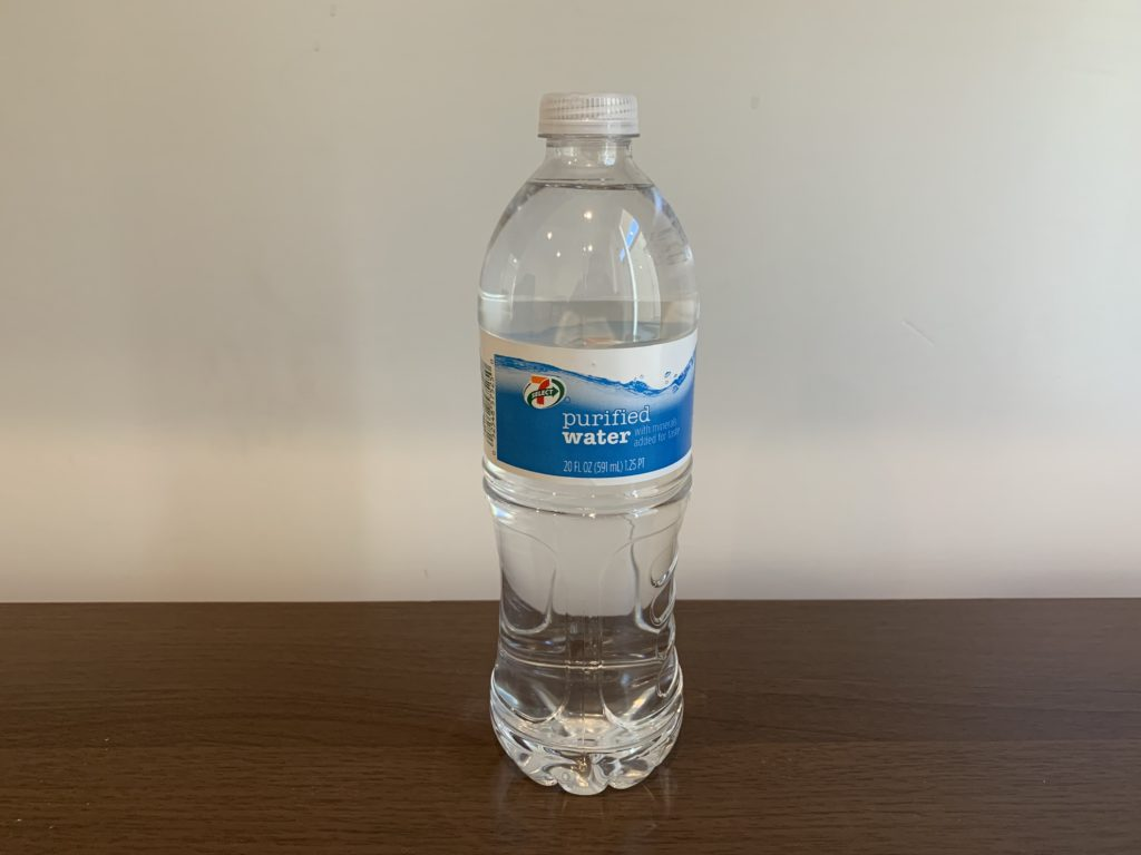 Select 7 Purified Water Test
