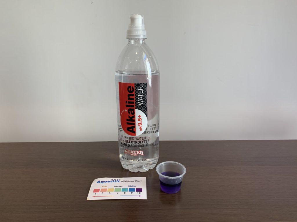 Stater Bros Alkaline Water Test Results
