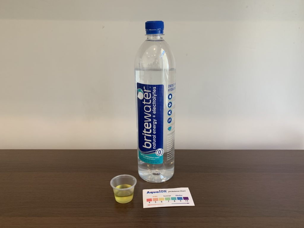 BriteWater Test Results