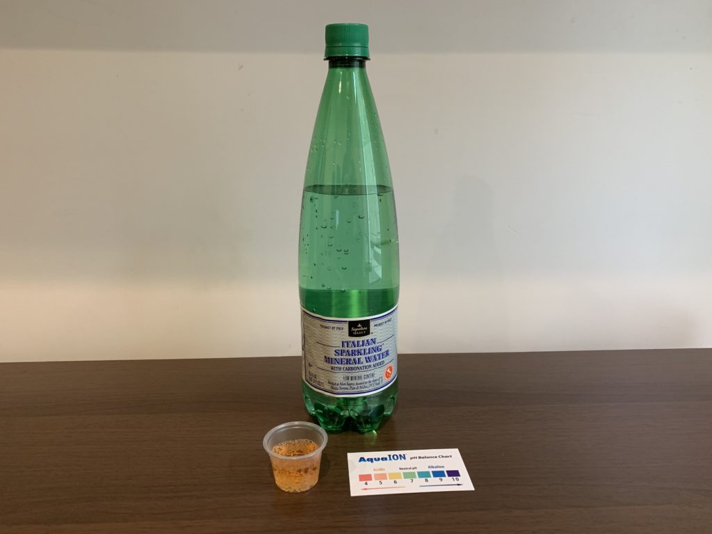 Signature Select Mineral Water Test Results