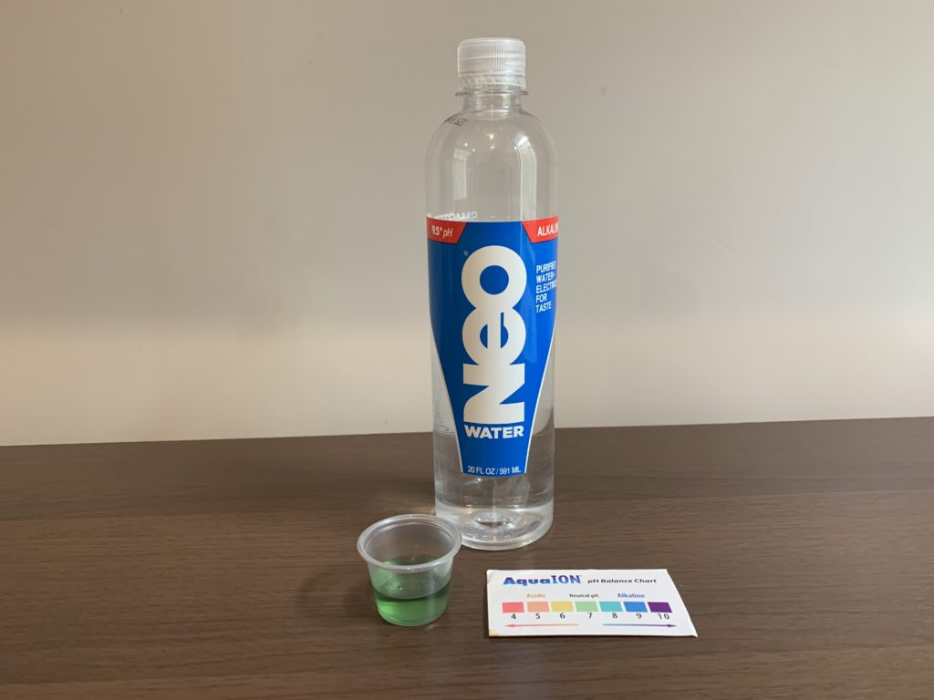 Neo Water Test Results