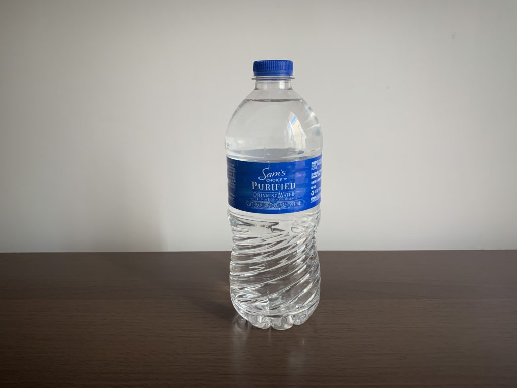 Sam's Choice Water Test