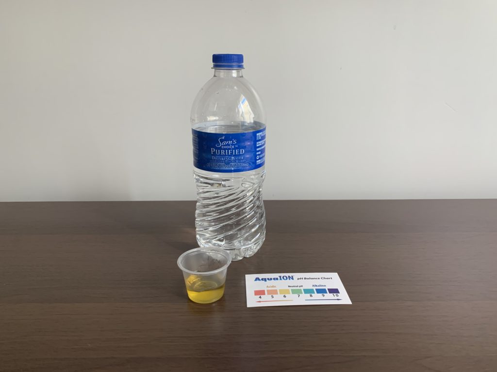 Sam's Choice Water Test Results