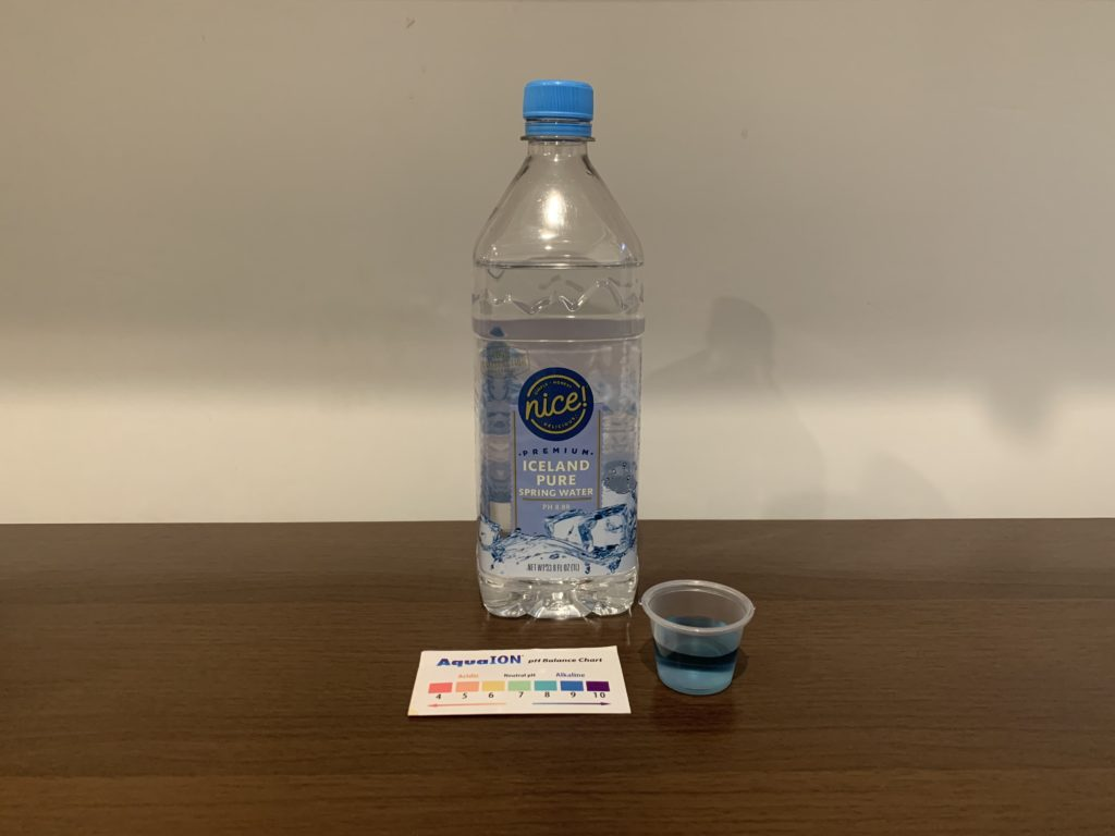 Nice Premium Iceland Spring Water Test Results