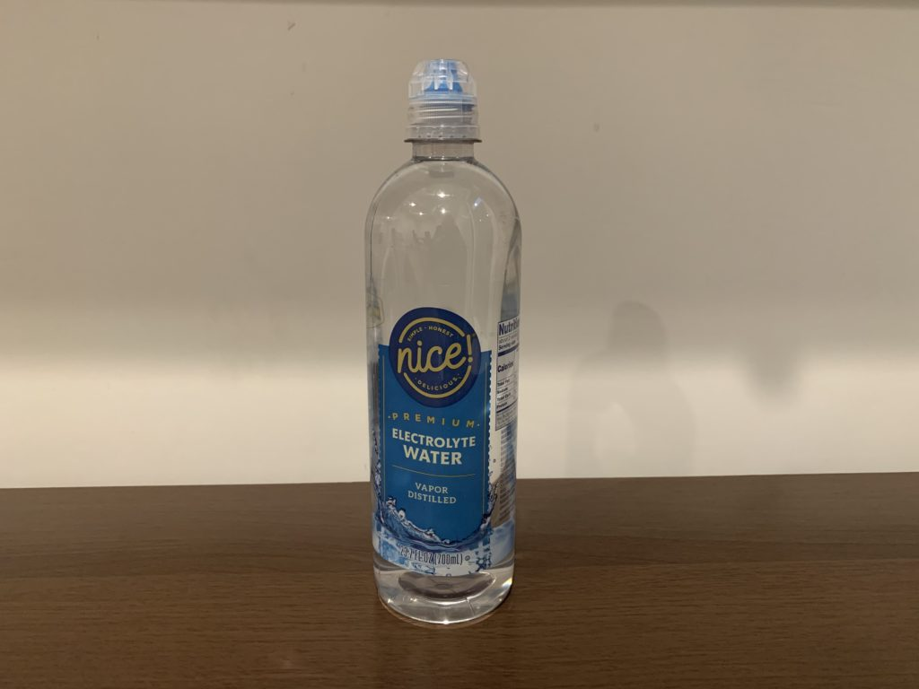 Nice Premium Electrolyte Water Test