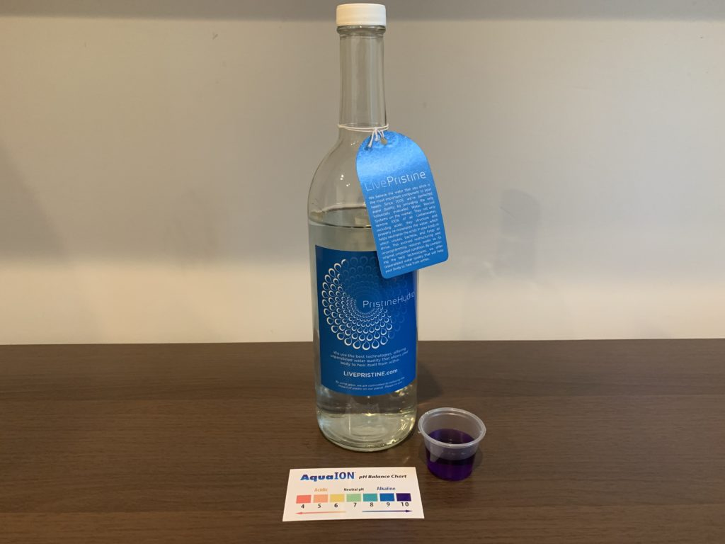 PristineHydro Water Test Results