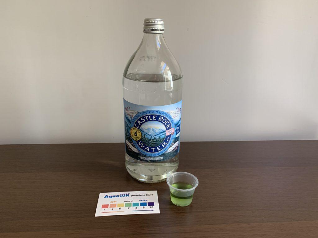 Castle Rock Water Test Results