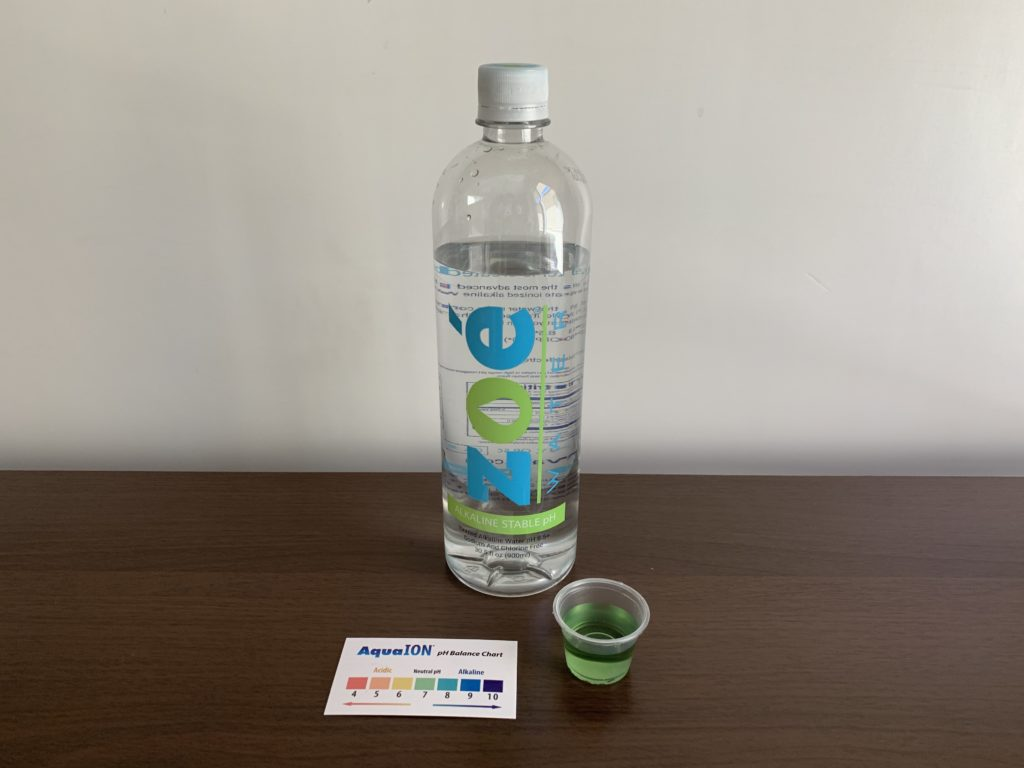 Zoe Water Test Results