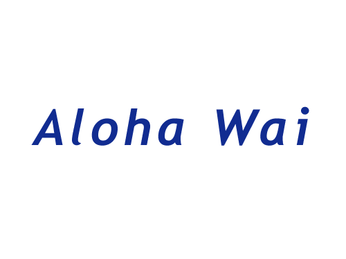 Aloha Wai Logo