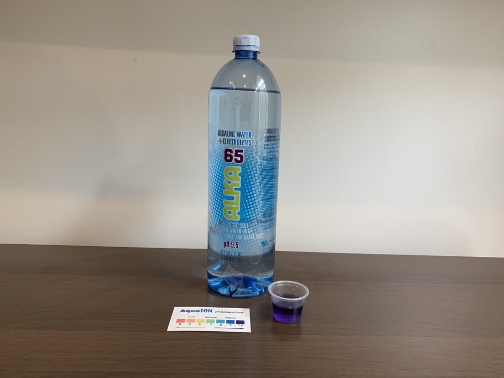 Alka65 Water Test Results