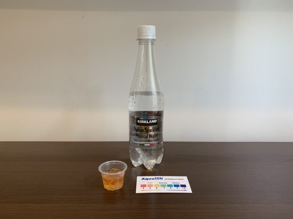 Kirkland Signature Sparkling Water Test Results
