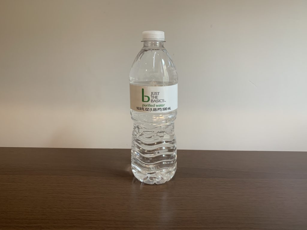 Just The Basics Water Test
