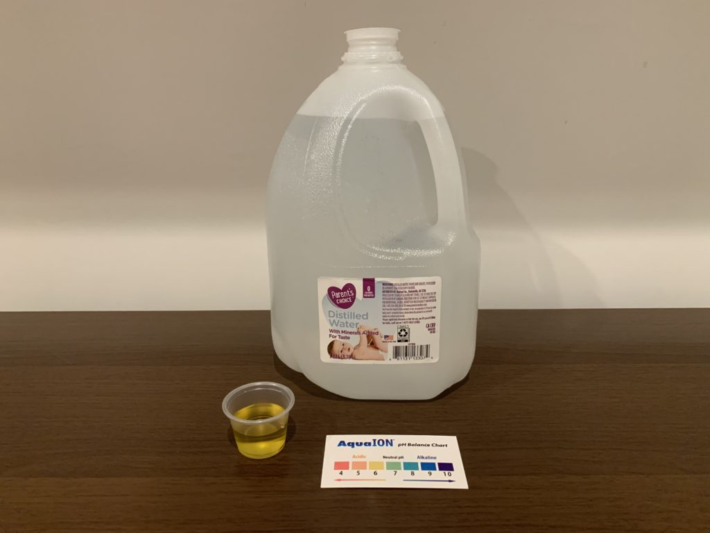 Parent's Choice Water Test Results