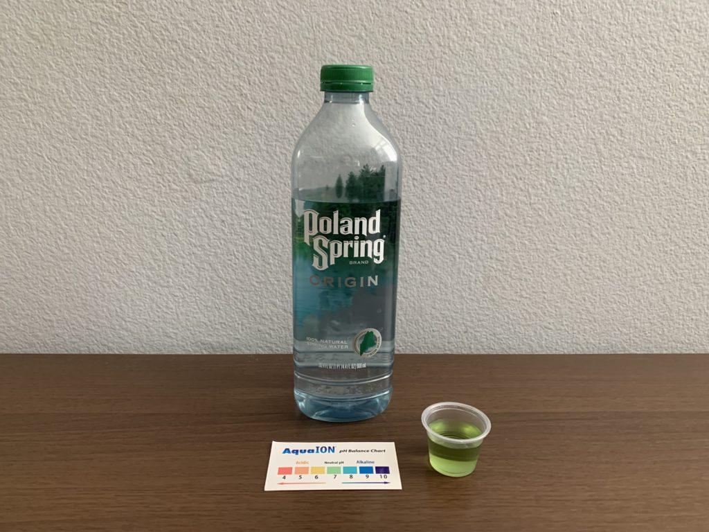 Poland Spring Origin Water Test Results