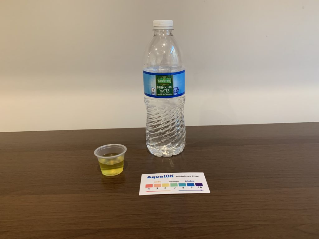 Springfield Water Test Results