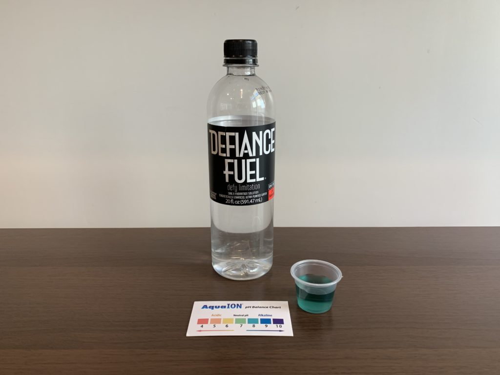 Defiance Fuel Water Test Results