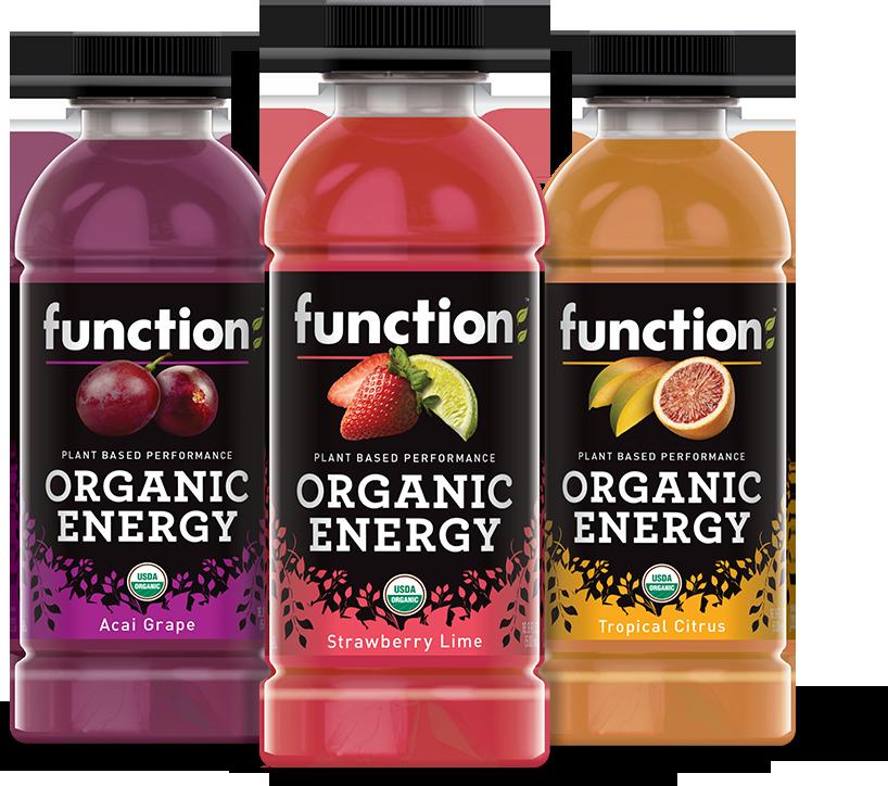 Function Organic Energy Drinks