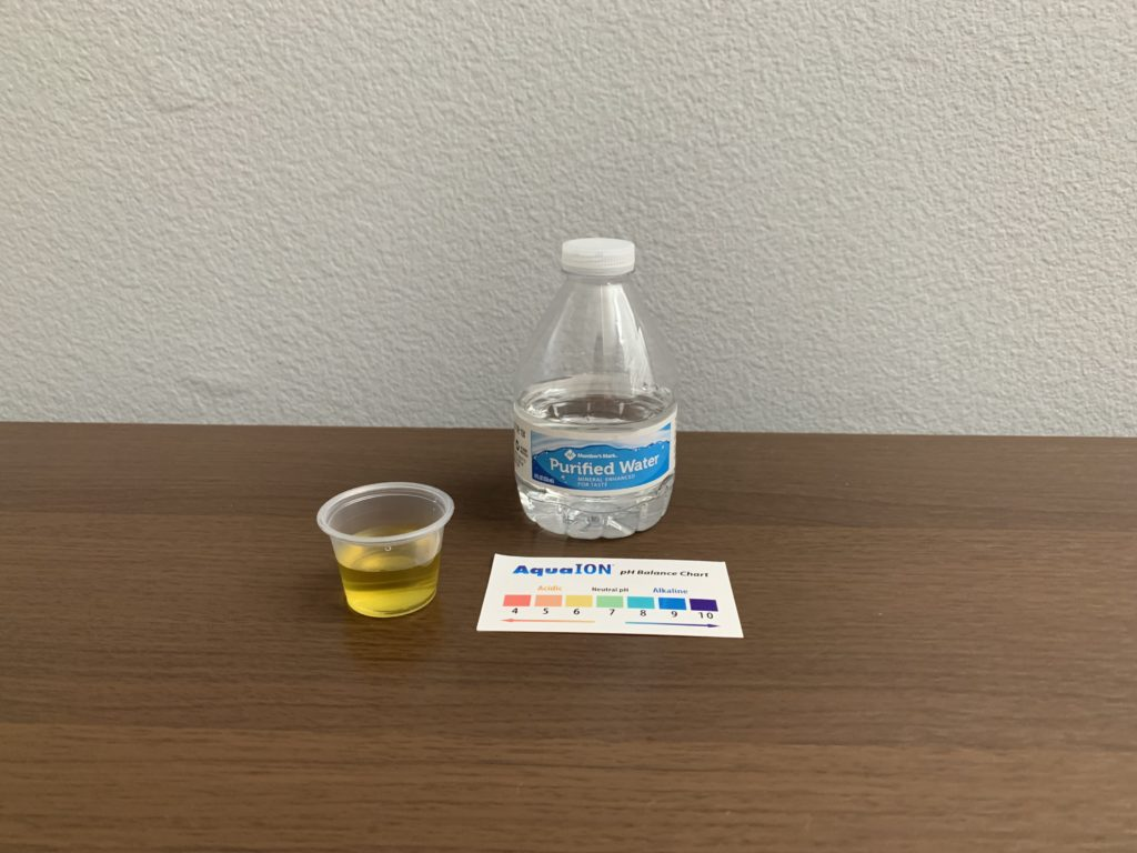 Member's Mark Water Test Results