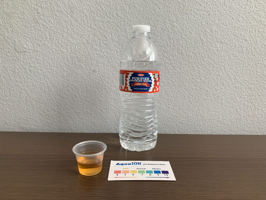 Ralphs Purified Water Test Results