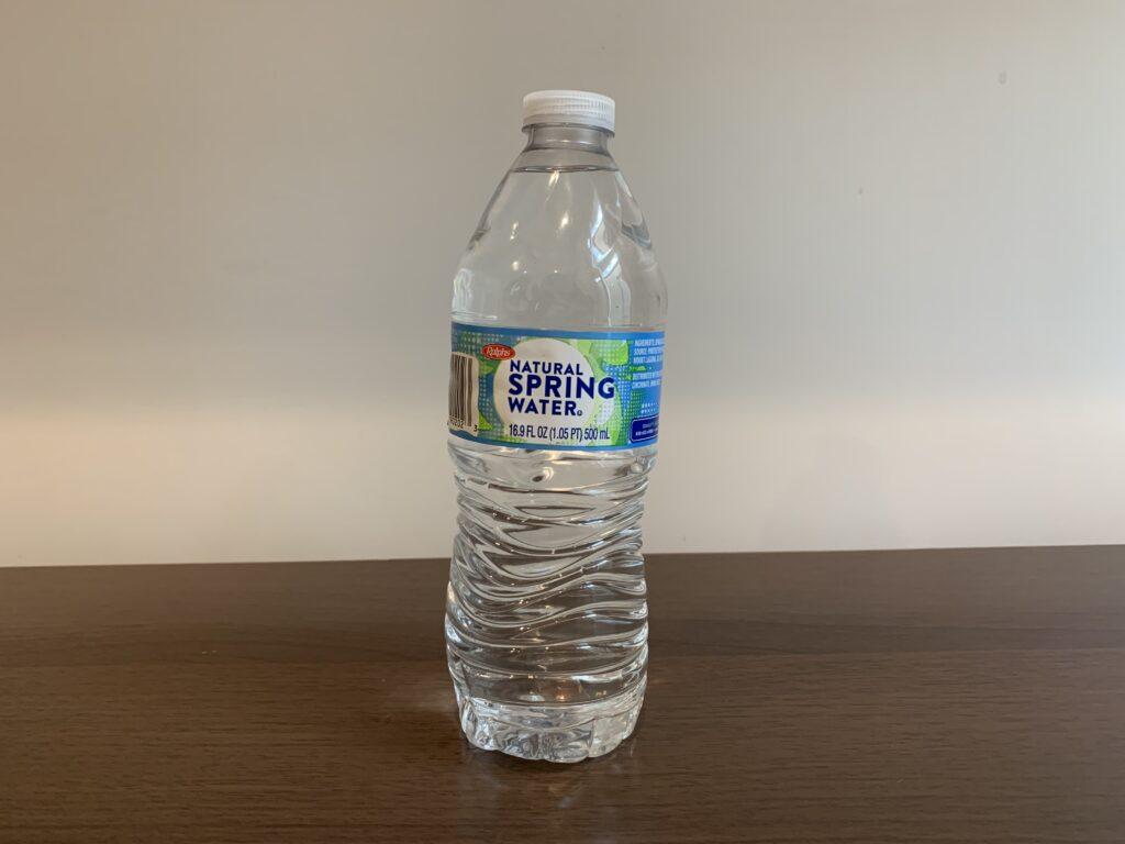 Ralphs Spring Water Test