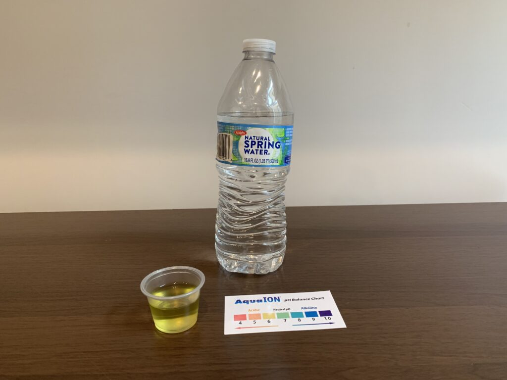 Ralphs Spring Water Test Results