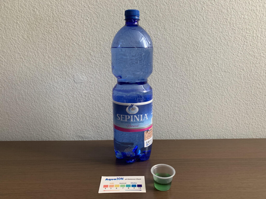Sepinia Water Test Results
