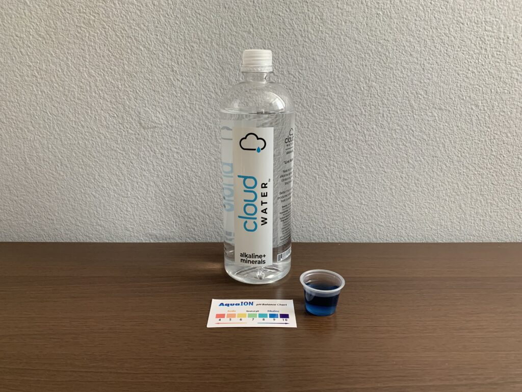 Cloud Water Test Results