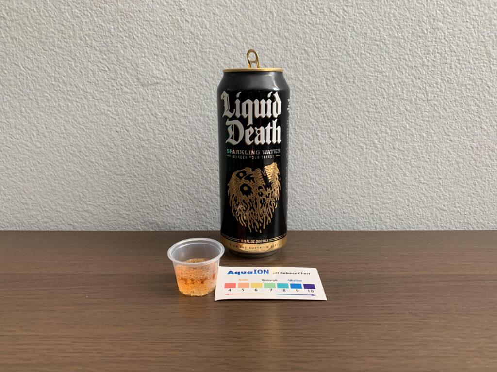Liquid Death Sparkling Water Test Results