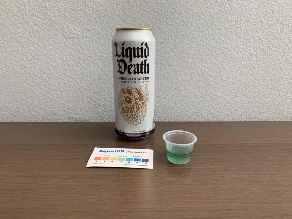 Liquid Death Water Test Results
