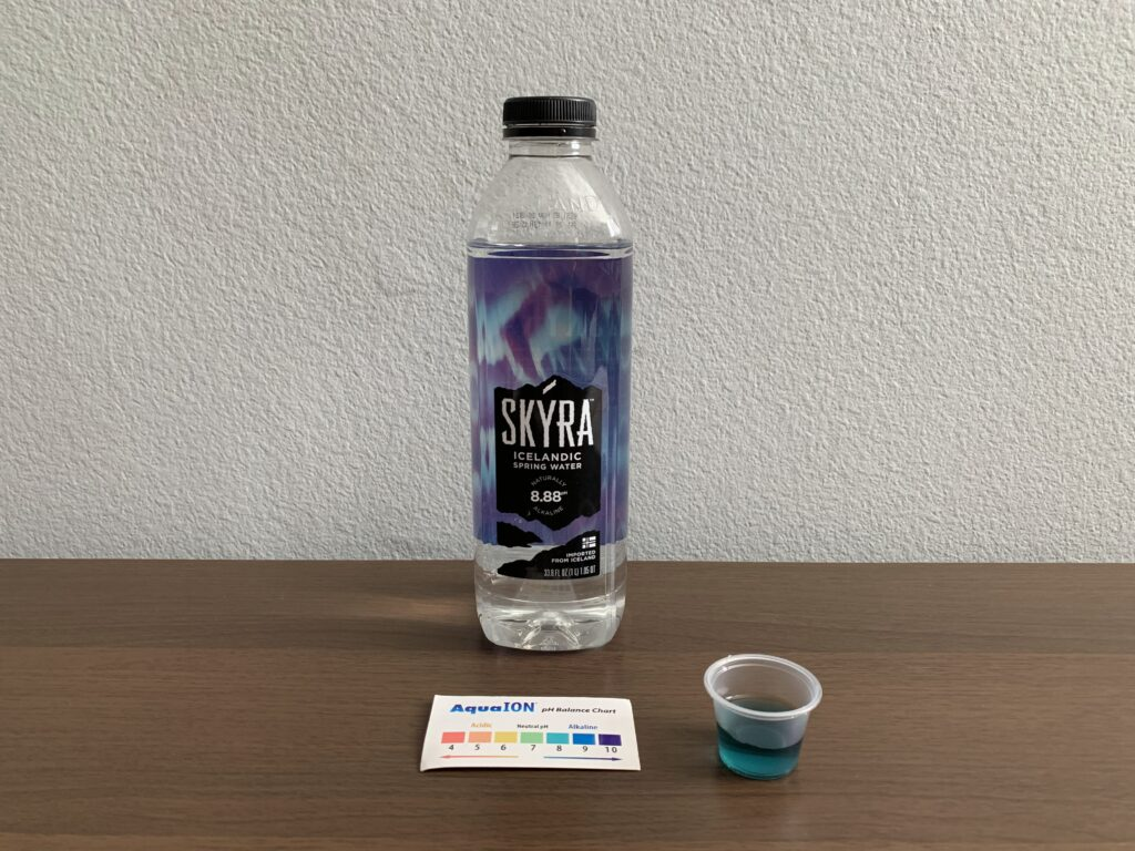 Skyra Water Test Results