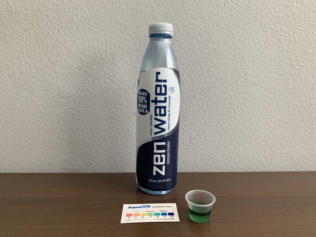 Zen Water Test Results
