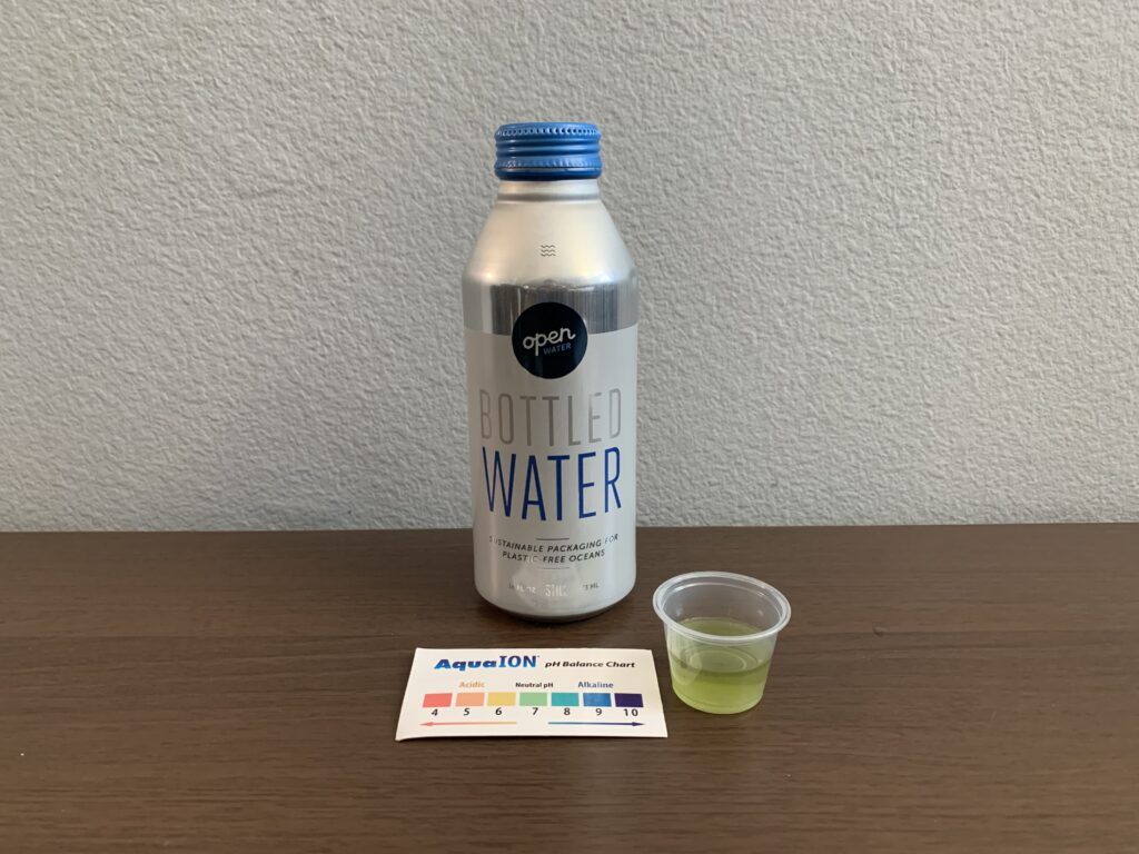 Open Water Test Results